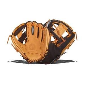 """Nokona Youth Baseball Glove Alpha Select S-200I /R 11.25"""" I-Web Infield LHT NWT"""
