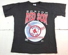 VTG Boston Red Sox Men's Official Fan Baseball Spell Out T-Shirt Size Medium