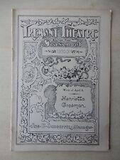April 8th, 1901 - Tremont Theatre Playbill - Mistress Nell - Henrietta Crosman