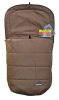 braun von 0-12 Monaten Hippychick HCNEWFOOT003 Neugeborenen Fußsack Fleece