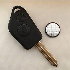 Citroen Saxo Xsara Picasso Berlingo 2 Button Remote Key Fob case Repair Kit