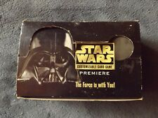 Empty STAR WARS Limited Edition Booster Box 1st print Decipher Alpha 1995