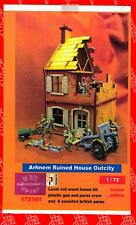 BUM Models 1/72 ARNHEM RUINED HOUSE OUTCITY with British Paratroopers Figure Set