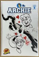 Archie 1CC Jae Lee B&W Variant SIGNED & REMARKED Ken Haeser * GEMINI SHIPPING