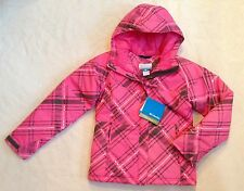 New COLUMBIA Girls Winter Jacket Parka OMNI-SHIELD Waterproof Pink $90 14/16 L