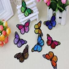 20*articles de couture Tissu de coton durable papillons DIY décor naturel beaux