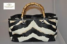 Authentic Gucci Large Bamboo Tiger Print