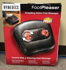 HoMedics FP-300 Foot Pleaser Kneading Foot Massager with Infrared Heat Toe Ctrl