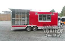 New 8.5 X 22 Enclosed Food Vending Mobile Kitchen Concession Catering Trailer