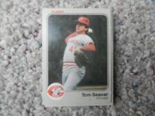 TOM SEAVER #601 1983 FLEER BASEBALL CARD (EXCELLENT CONDITION)