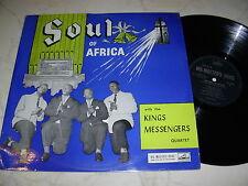 Kings Messengers Quartet Soul of Africa * his Masters Voice lp*nm*60s LP *