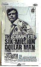 Six (6) Million Dollar Man TV Rittenhouse Archives Trading Card Box New 2004
