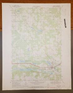"Bagley, Minnesota Original Vintage 1969 USGS Topo Map 27"" x 22"""