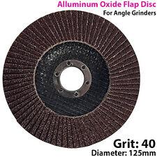 125mm 40 GRANA di ossido di alluminio Flap Disc-la levigatura/SANDER-per smerigliatrice angolare