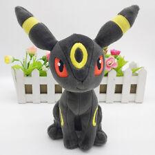 "6"" Pokemon Eevee UMBREON soft plush doll toy Tomy Pokeman  F007"