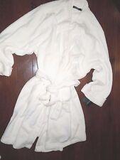 Ralph Lauren  women's wrap soft  thick off-white cream Fleece ROBE plus size 2X