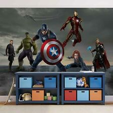 AVENGERS COMICS Wall Mural photo Wallpaper for kids 368x254cm MARVEL HEROES