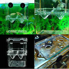 Hanging Popular Fish Breeding Isolation Aquarium Accessories Incubator Box Tanks