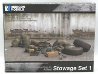 Rubicon 280033 WWII Allied Stowage Set #1 Vehicle Cargo Conversion Bits Terrain