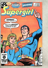 Daring Adventures Of Supergirl #20-1984 vf Infantino Superman Teen Titans