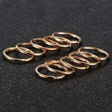 40pcs Boho Women Lady Hip-Hop Braid Gold Silver Ring Hair Clip UK STOCK