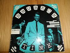 Brubeck TIME 1955 Philips Minigroove BBL 7060 LP