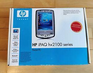 HP iPAQ HX2100 Series HX2190b Pocket PC in BOX! + Warranty - UNUSED! NO RESERVE!