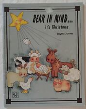 SGP Decorative Painting Pattern Book BEAR IN MIND it's CHRISTMAS by Jayna James