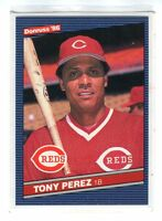 1986  TONY PEREZ - Donruss Baseball Card # 428 - CINCINNATI REDS