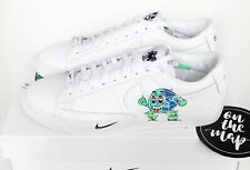 Nike Blazer Low Flyleather QS Earth Day 2019 White Green UK 8.5 US 9.5 New