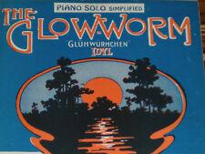 Vintage Sheet Music - The Glow-Worm (Glühwürmchen) PIANO SOLO