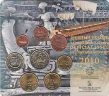 Griekenland BU set 2010 / 1 cent - 2 euro KMS