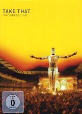"""TAKE THAT """"PROGRESS LIVE"""" 2 DVD (AMARAY) NEW+"""