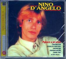 Nino D'Angelo. Pop Corn e Patatine (2003) CD NUOVO Scugnizzo a New York. Piccola