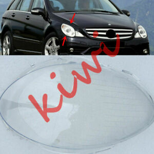 For Mercedes Benz  W251 R350 06-08 Right Side Headlight Cover Clear PC+ Glue