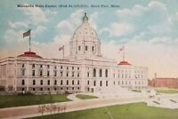 Vintage Postcard Minnesota State Capitol, St. Paul, Minn.postmark 1920 a2-288