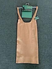 AMBRA Size 10-12 Shapewear Killer Figure Black, SeamFree Shaper Slip Singlet