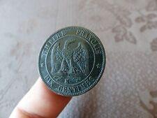 NAPOLEON III TETE NUE - 10 CENTIMES 1856 MA; TB+; A VOIR...