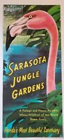 1950s 60s Sarasota Jungle Gardens Florida Roadside Attraction Brochure FL FLA !