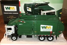 First Gear Garbage Truck 1:34 Mack Waste Management Front End Loader NIB MINT @@