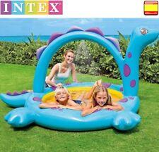 Piscina hinchable para niños INTEX dinosaurio portátil con PULVERIZADOR