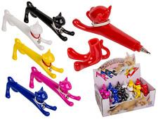 Katzen Kugelschreiber verschiedene Farben Katze Stift witzig