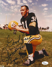 PACKERS Jim Taylor signed photo 8x10 w/ HOF 76 and SB I JSA COA AUTO Autographed