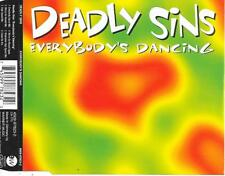 DEADLY SINS - Everybody's dancing CDM 6TR Italo Euro House 1994 Germany