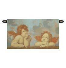 Romantic Tapestry CHERUB CUPID ANGEL RAFFAELLO