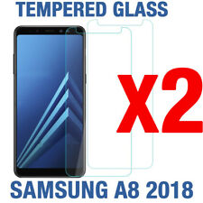 Tempered Glass Screen Protector For Samsung Galaxy A8 2018 (2 PACK) -Canada