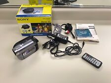 Sony HandyCam DCR-DVD810 Camcorder NightShot Tested with Box and Accessories