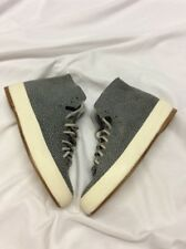 FEIT Hand Sewn Women's shoes Blue Speckeled Suede size 36