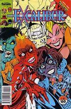 EXCALIBUR   # 6  - COMIC - 1988 -  8.5
