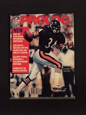 1987 Prolog Football Magazine Walter Payton Cover.  Chicago Bears